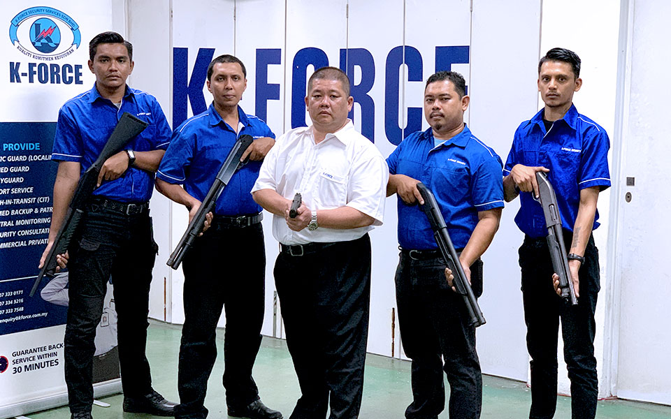 Armed guards & Bodyguards